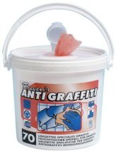 Lingettes antigraffiti